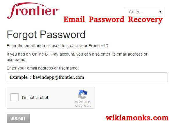 How to Reset or Recover Frontier Email Password   Wikiamonks