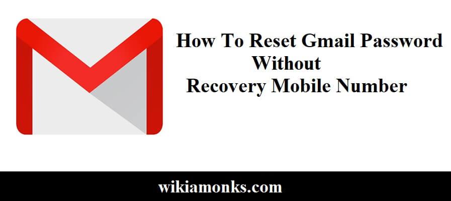 gmail password reset mobile