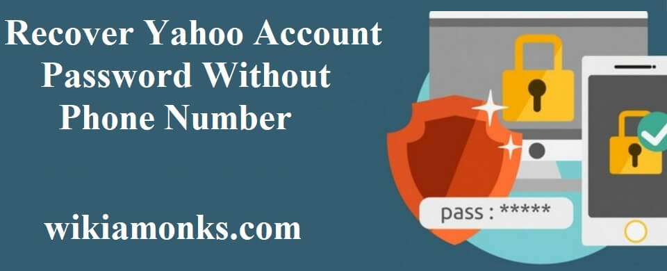 login yahoo account without phone number