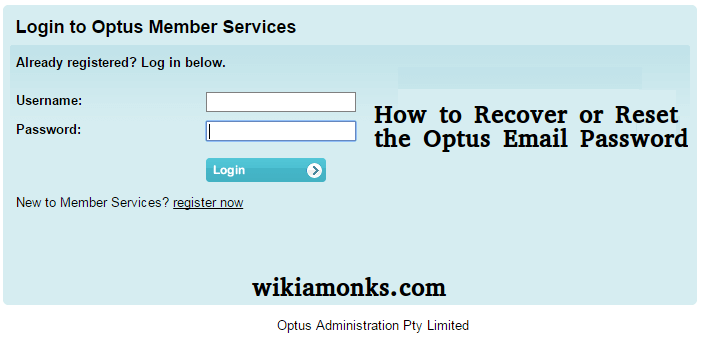 How To Change or Reset Forgot Optus Email Password | Wikiamonks