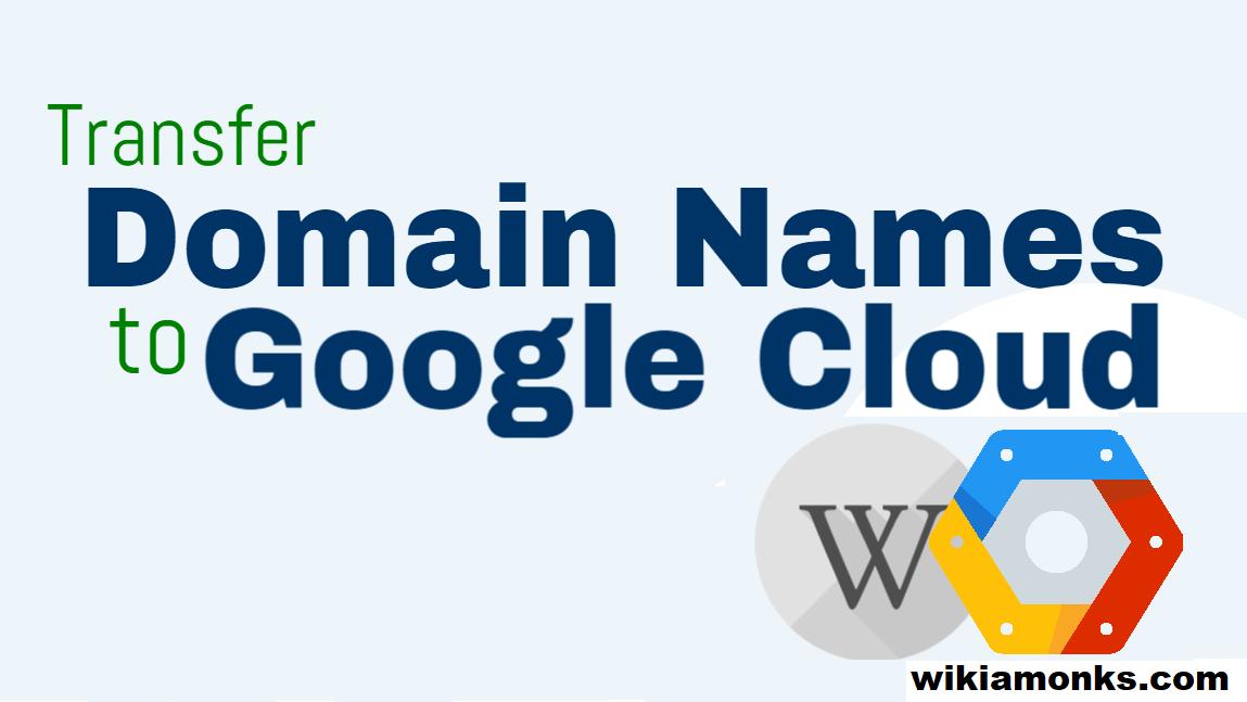 Transfer Domain To Google Cloud