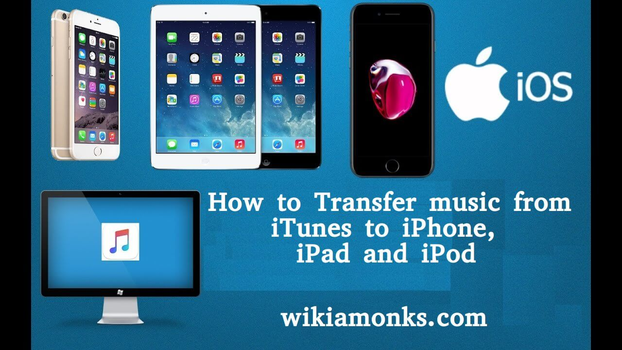 How to Transfer music from iTunes to iPhone, iPad and iPod