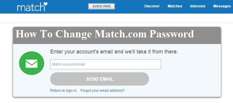 match com account