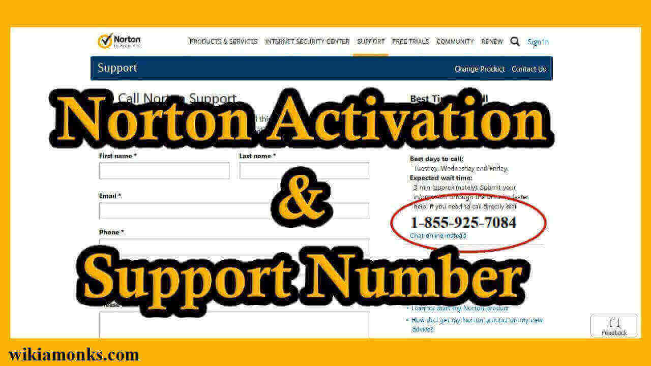 activate norton using product key