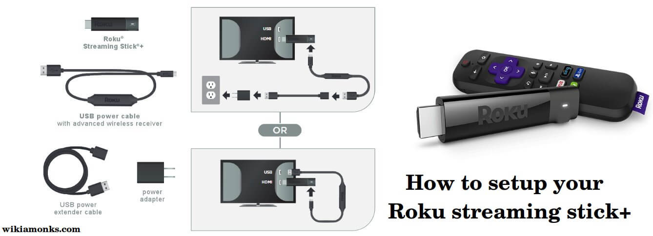 How do i hook up my roku streaming stick