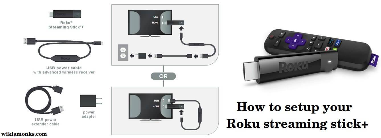 How To Setup Your Roku Streaming Stick Wikiamonks