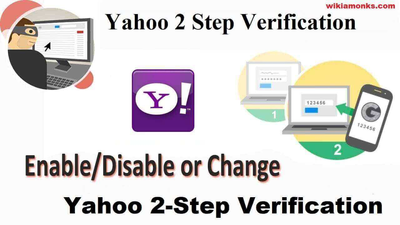 How to Enable or Disable Yahoo 2 Step Verification | Wikiamonks
